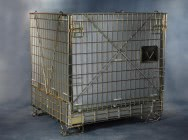 Warehouse containers, mesh containers