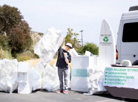 Disposal pick up styrofoam…