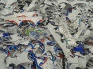 Polistyren biały (PS) + aluminium: odpad poprodukcyjny