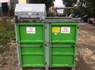Belownica prasa do makulatury kartonu folii śmieci odpadów sklepu Dixi 4sk