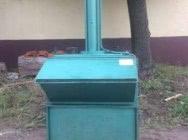 Belownica prasa do folii makulatury odpadów sklepu śmieci