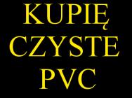 Odpad twardej folii PVC na rolkach
