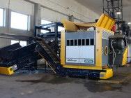 Rozdrabniacz jednowałowy Untha QR1700, 1*90 kW