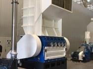 Grinding mill, film, tires 160/80 cm