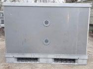 Skrzyniopaleta plastikowa PCV Big Box kontener magazynowy