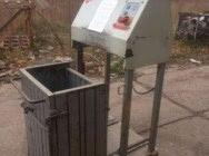 Belownica prasa do foli makulatury sklepu kartonu śmieci odpadów