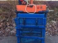 Belownica prasa do makulatury kartonu folii śmieci odpadów sklepu 8ton