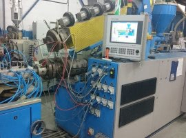 Extrusion line for PVC…