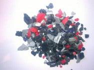ABS przemiał mix kolorów do mycia po separatorze magnetycznym