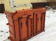 Belownica prasa do foli makulatury kartonu sklepu śmieci odpadów Orwak 5070