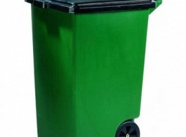 HDPE trash containers…