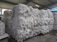 LDPE flake transparent