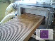 We manufacture heads for extruding profiles and boards from WPC composites