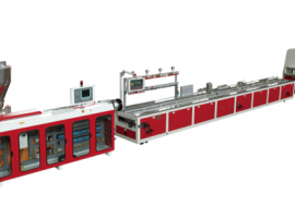 The extrusion line for…