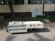 Belownica prasa do foli makulatury śmieci odpadów kartonu sklepu Hsm 8TE