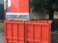 Belownica prasa do foli makulatury śmieci odpadów peta Orwak 8020