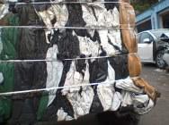 LDPE foil fudge, black and white