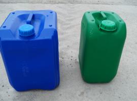 Plastic barrels of 200…