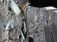 PA66 air-bags post production waste
