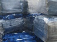 150102 HDPE waste, blue…