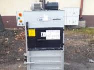 Baler press for waste paper foil waste shop carton