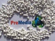 White HDPE film regranulate