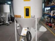 Plastic mixer 350 kg, plastic silo