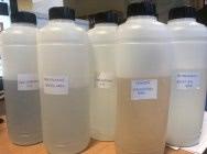 Использованные кислоты и химия из ванн
