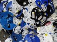 Odpad Szpula PS z etykietą…