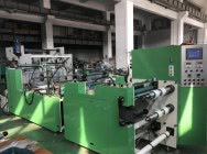 Automatic machine for the production of foil bands