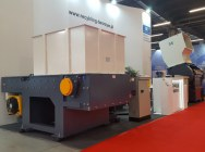 Crusher Mill Rotor 1200MM Engine 55KW