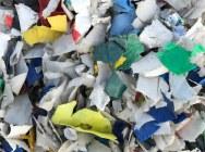 Odpad HDPE shred