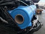 LDPE folia niebieska z FR