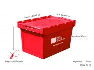 Plastic Pst transport containers