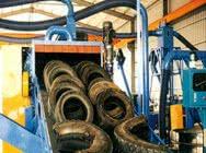 Maszyny przetwórstwa gumy - Recykling Opon