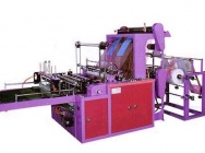 Automatic welding machines for prod. Flat bags, sacks and bags
