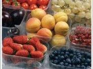 Opakowania plastikowe na owoce