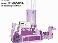 Small granulation line of pure PE / PP film waste-> cooling with air or water