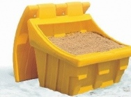 Containers for sand and road salt from 50 to 900 kg boxes