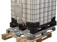 Ibc Dppl pallet conainers 1000 l Pzh UN EX pallet, Mauzers tankpalets - Budeco