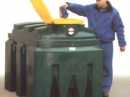 Waste oil tanks - capacity from 200 to 2500 l