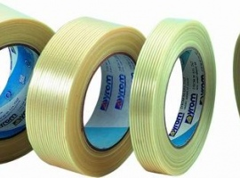 Adhesive tape reinforced…