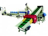 Linia do mycia odpadów PE, PP o wydajności 300-400 kg/h