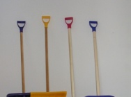 shovels for snow - plastic…