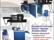 Machines, equipment for the production of regranulate