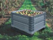 Skrzyniopalety plastikowe na owoce i warzywa, paleto pojemniki Ibc - dostawy cała Polska