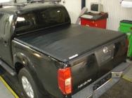 Plandeka na skrzynię ładunkową pick up Toyota Hilux, Nissan Navara D 40