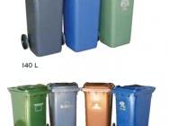 Kosze i pojemniki na odpady bytowe i segregowane - Budeco
