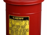 Containers for oily waste and flammable liquids