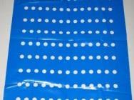 Arkusze foliowe na rolce, Folia z perforacja na rolce